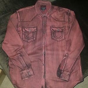 True Religion jean shirt